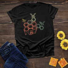 Load image into Gallery viewer, Bees & Honeycomb Tee