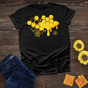 Bee Hive Honey Drop Tee