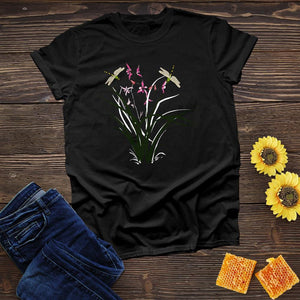 Dragonfly Orchid Tee