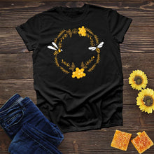 Load image into Gallery viewer, Bees in Circle Tee