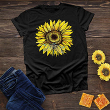 Load image into Gallery viewer, Dragonfly Sunflower Tee
