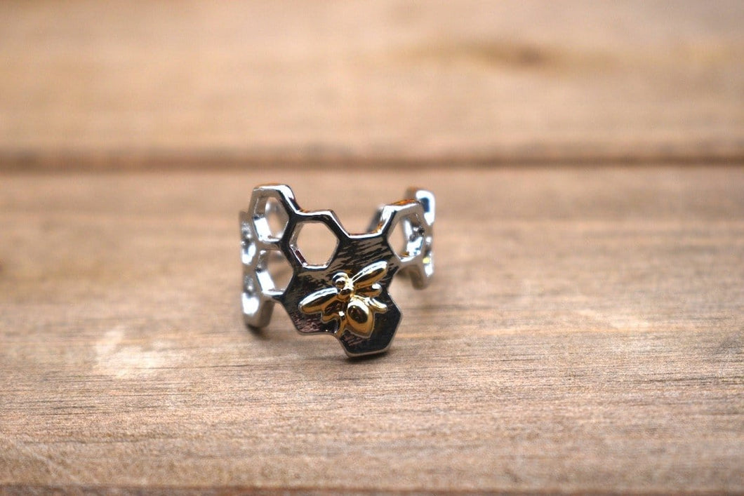 Honeycomb Hive Ring
