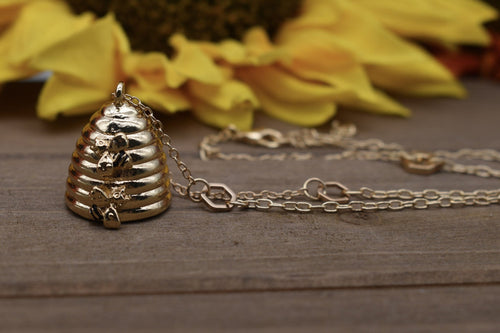 Honey Hive Necklace