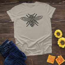 Load image into Gallery viewer, Celtic Honey Bee Tee