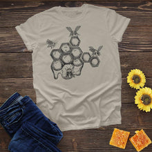 Load image into Gallery viewer, Bee Honeycombs Tee