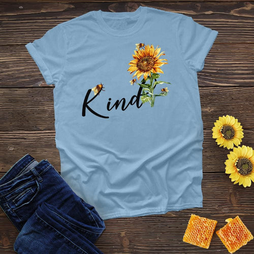 Bee Kind Sunflower Tee