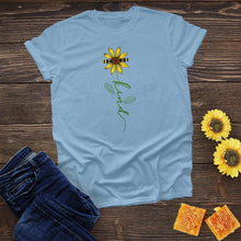 Load image into Gallery viewer, Bee Kind Flower Tee