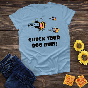 Check Your Boo Bees Tee