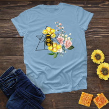 Load image into Gallery viewer, Bee in a Triangle Tee