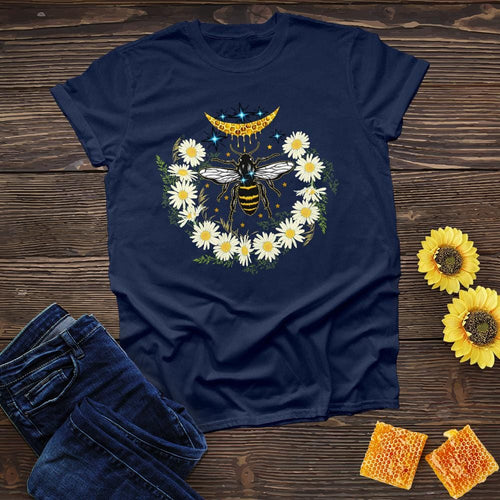 Bee Daisy Flower Tee