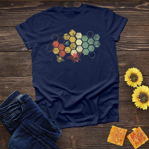 Honeycomb Rainbow Tee
