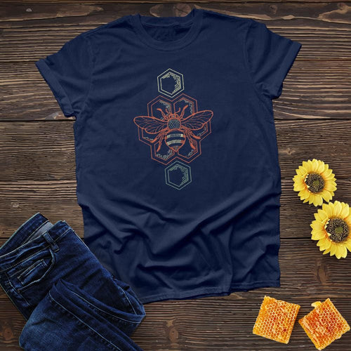 Bee and Honeycombs Tee