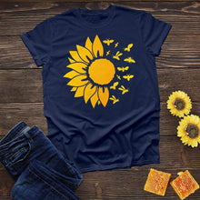Load image into Gallery viewer, Sunflower Bee Tee