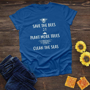 Save Plant Clean Tee