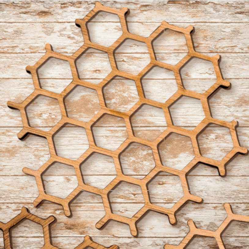 Honeycomb Coaster