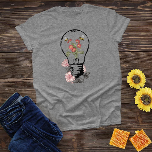 Bulb Flower and Bees Tee
