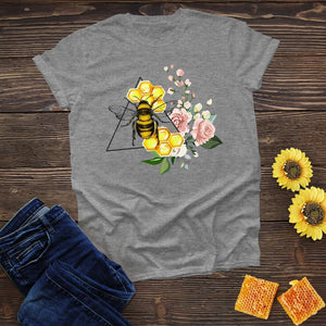 Bee in a Triangle Tee