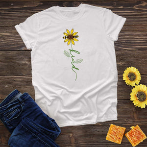 Bee Kind Flower Tee