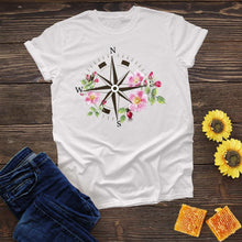 Load image into Gallery viewer, Compass Flower Tee