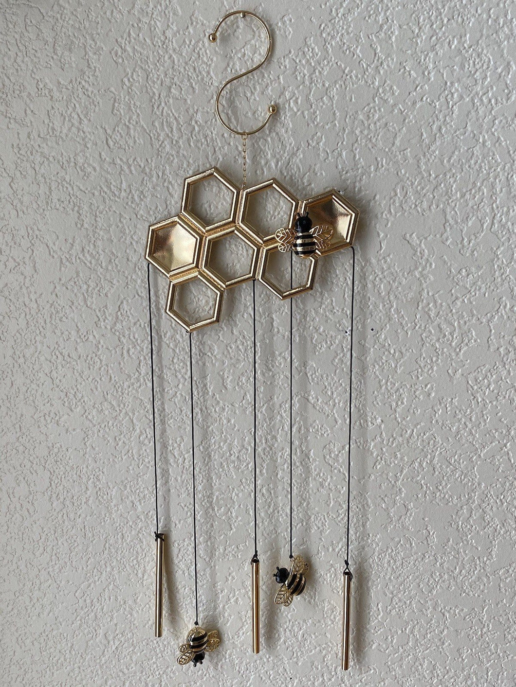 5x Honeycomb Wind Chimes