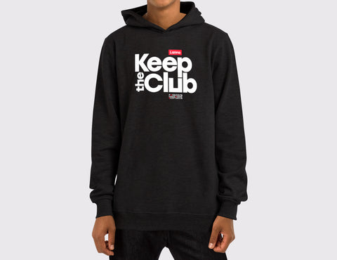 Sudadera Capucha 01: Keep the Club