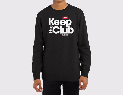 Sudadera 01: Keep the Club