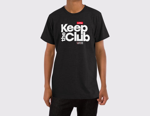 T-shirt 01: Keep The Club.