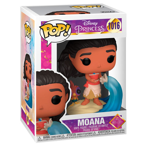 PRE-ORDER. Disney Ultimate Princess Moana Funko Pop Figure. 1016