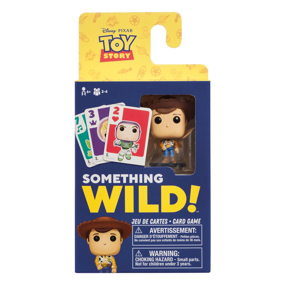 Disney Toy Story Something Wild Funko Pop Card Game