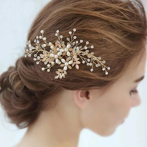 Pince cheveux perle mariage
