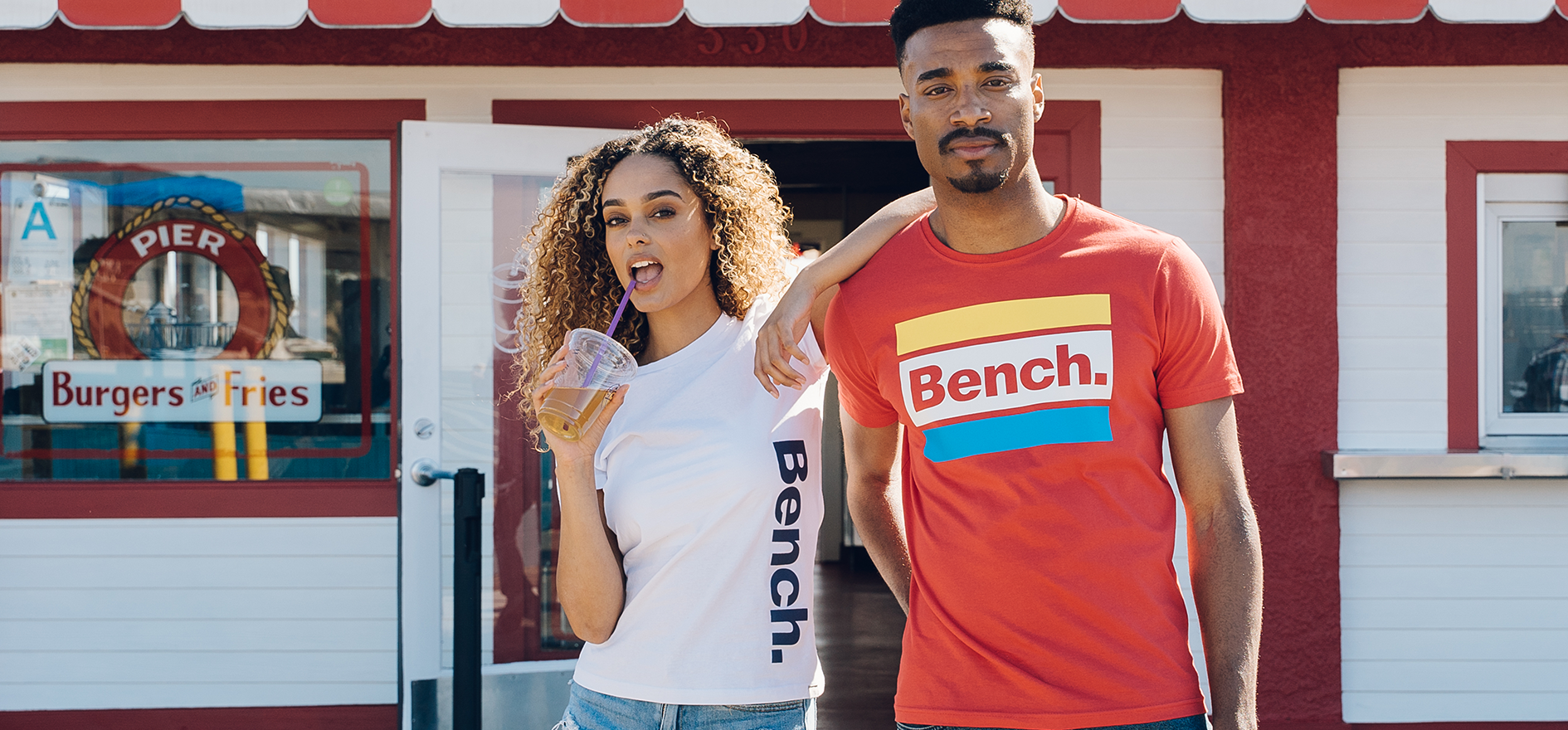 Bench Clothing - Live for the city