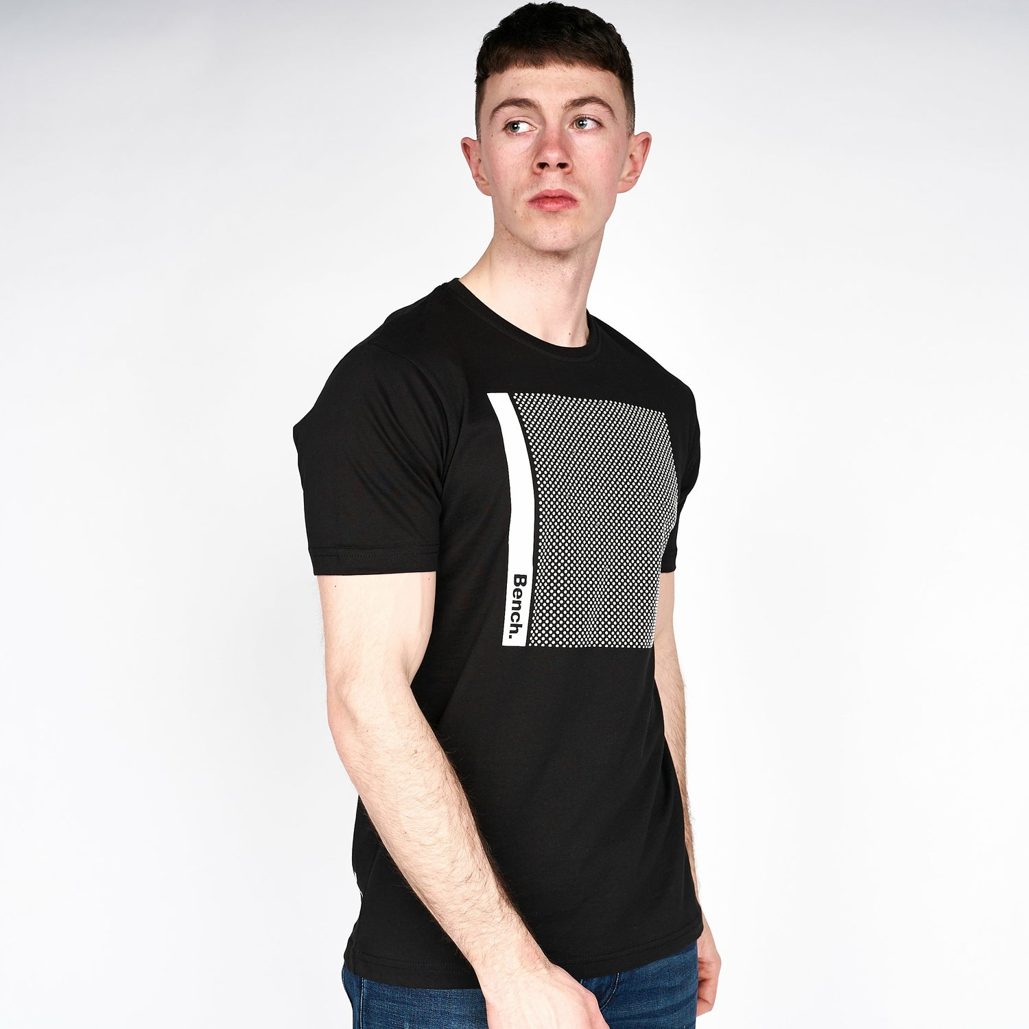 Mens Albany T-Shirt Black