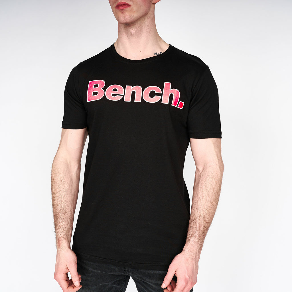 Mens Border T-Shirt Black