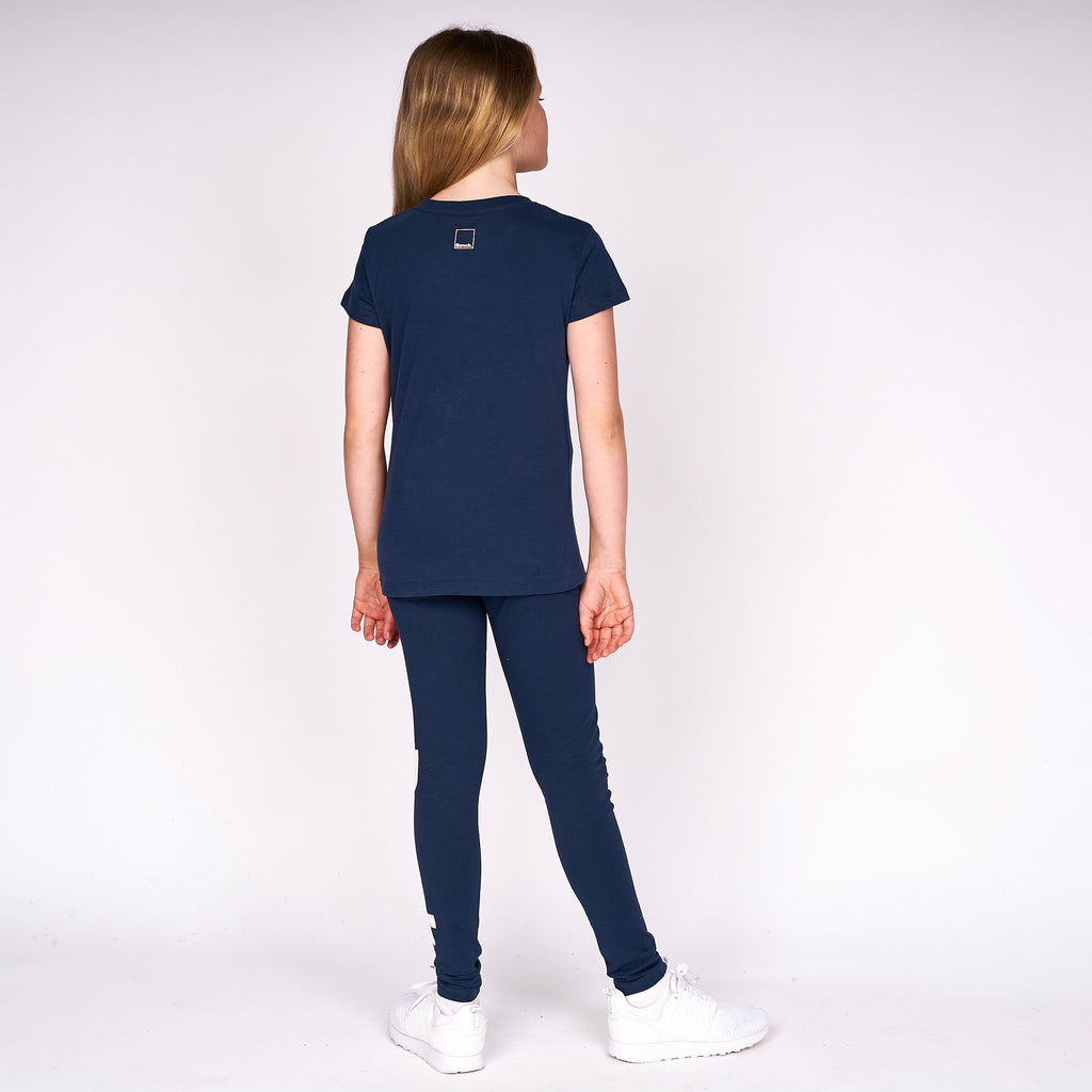Girls Carissa T-Shirt Navy
