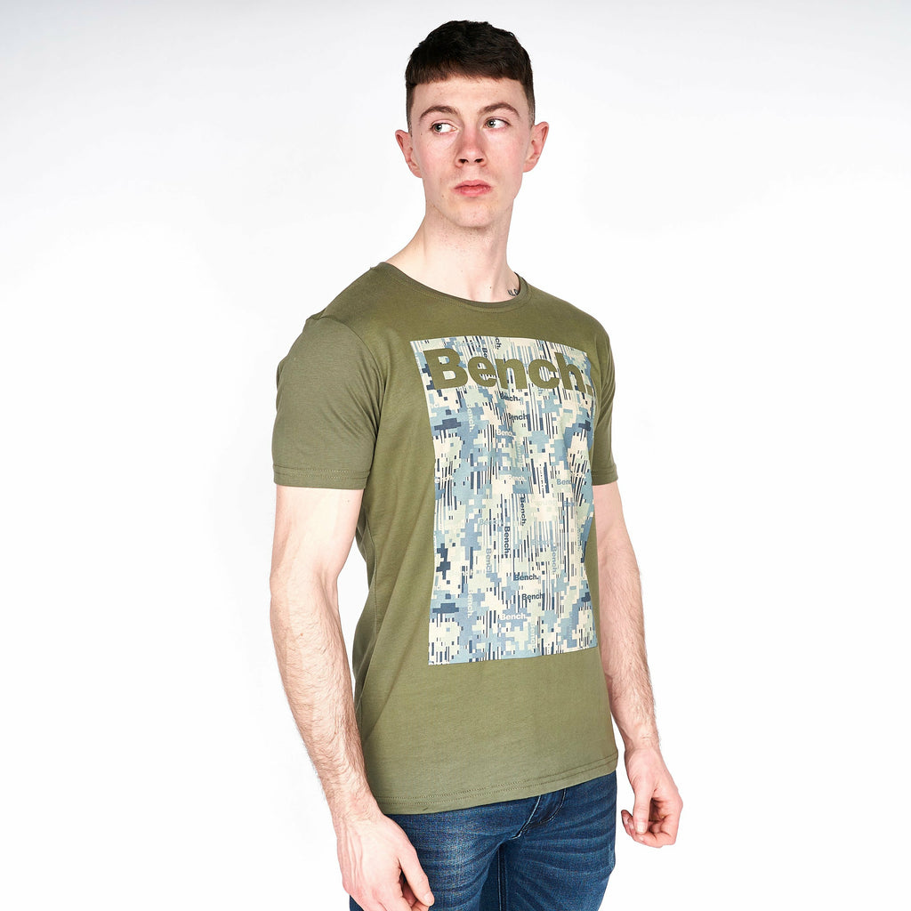Mens Covert T-Shirt Khaki