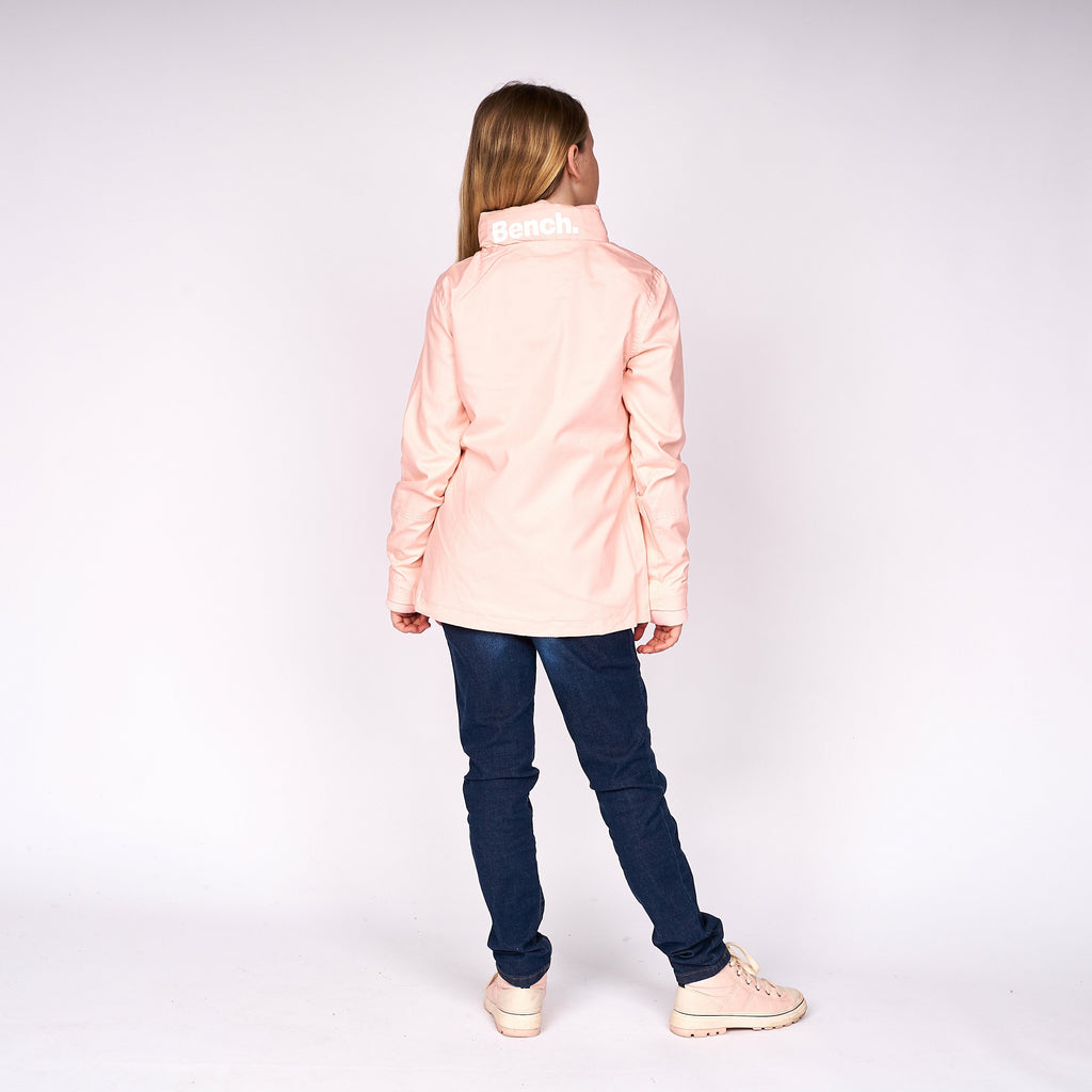 Girls Cue Jacket Pink