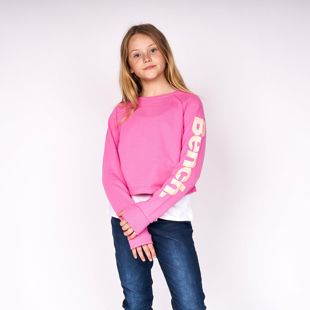 Girls Danceable Sweat Pink