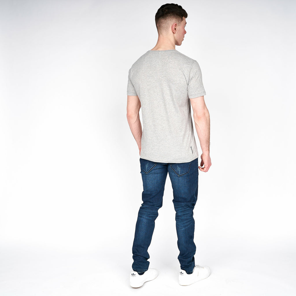 Mens Fairfax T-Shirt Grey Marl