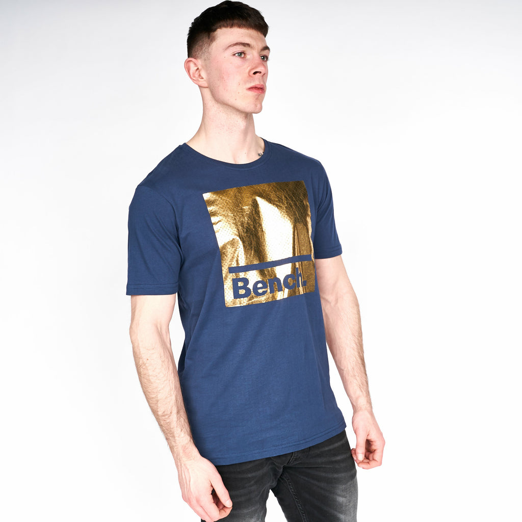 Mens Hines T-Shirt Navy