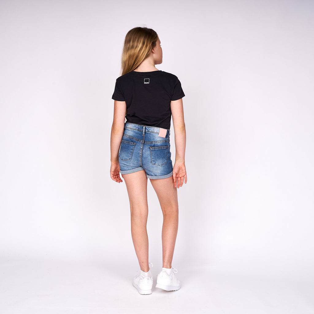 Girls Imogen T-Shirt Black