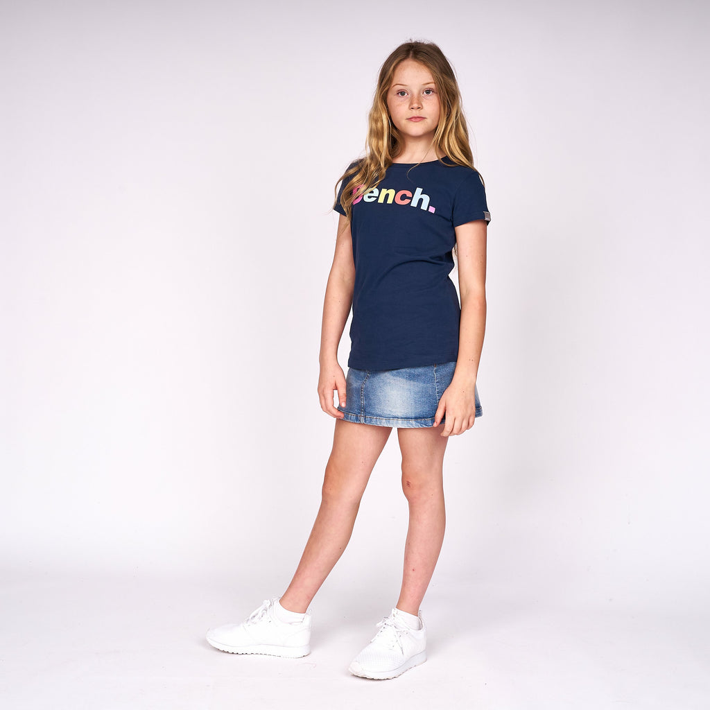 Girls Josie T-Shirt Navy