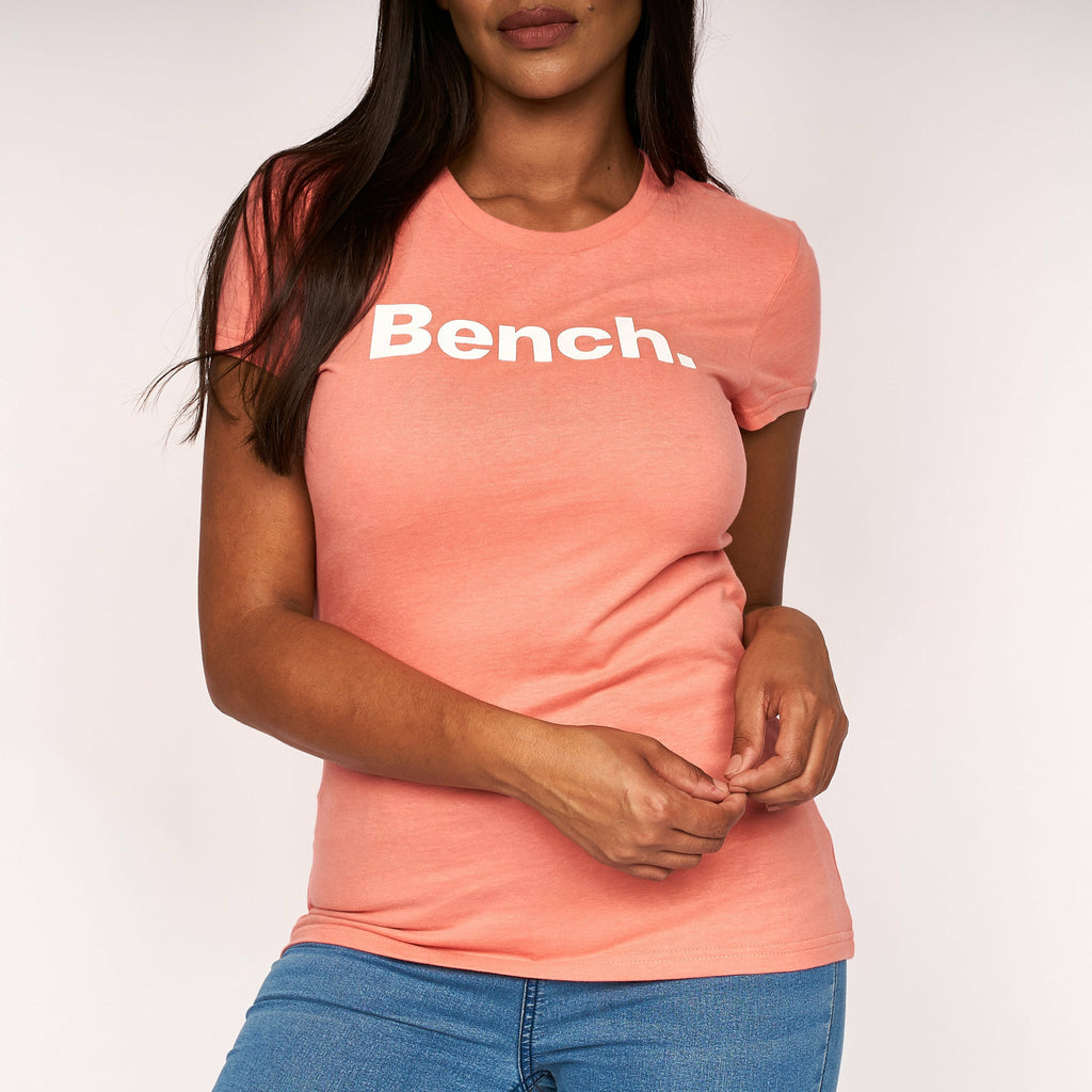 Womens Miller T-Shirt Coral Shell Pink