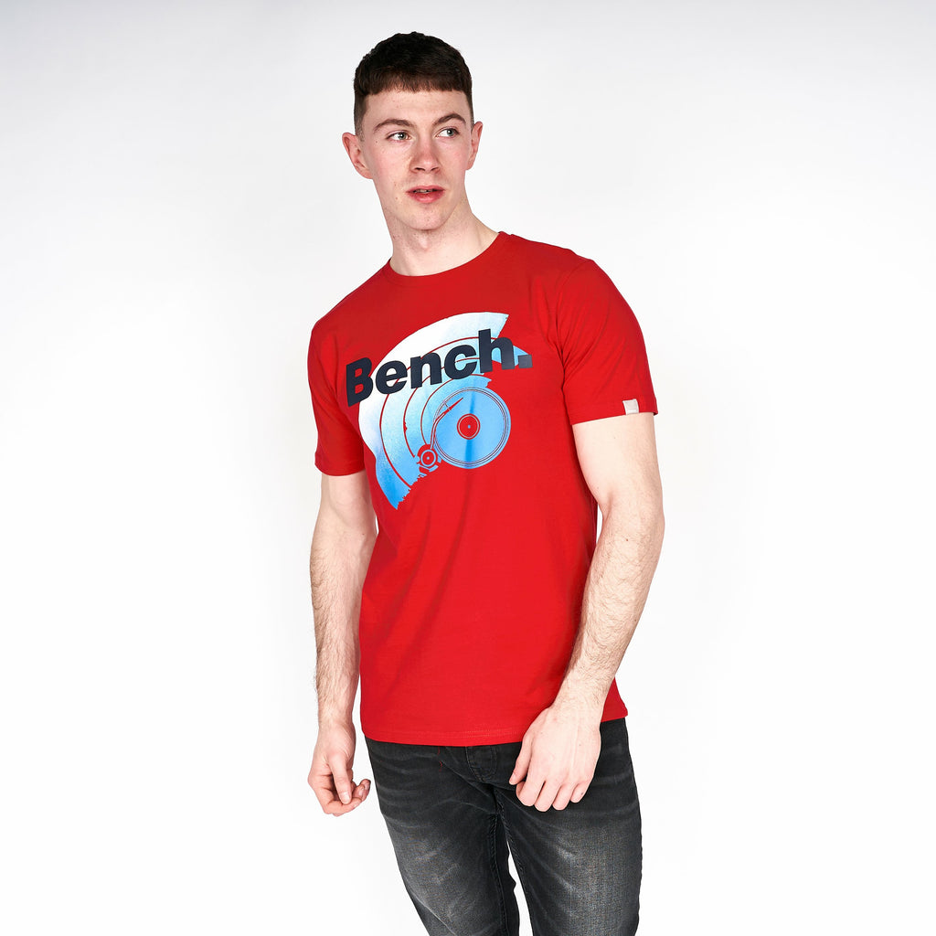 Mens Valencia T-Shirt Red