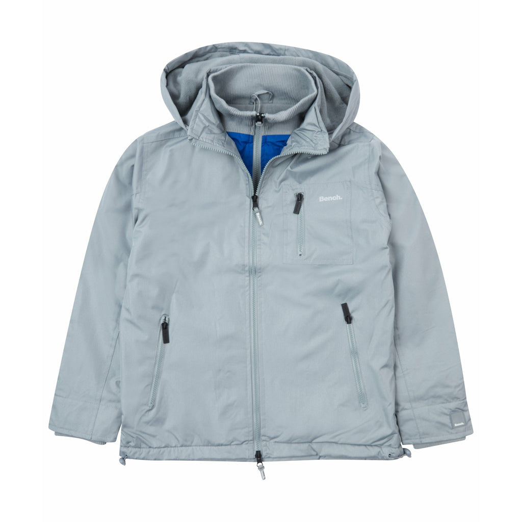 Boys Hesterly Jacket Grey - Bench Clothing - #LoveMyHood11-12 YearsOuterwear