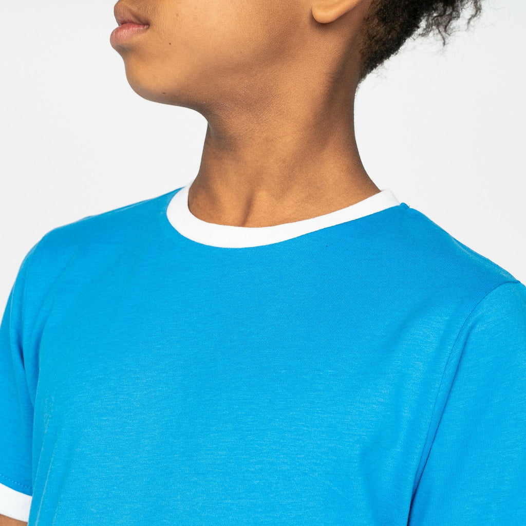 Boys Taylor T-Shirt Blithe Blue - Bench Clothing - #LoveMyHood7-8yrsT-Shirts