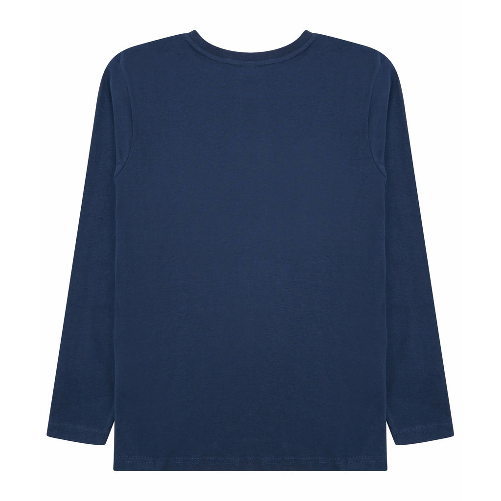 Boys Valley Long Sleeve T-Shirt Navy - Bench Clothing - #LoveMyHood11-12 YearsT-Shirts