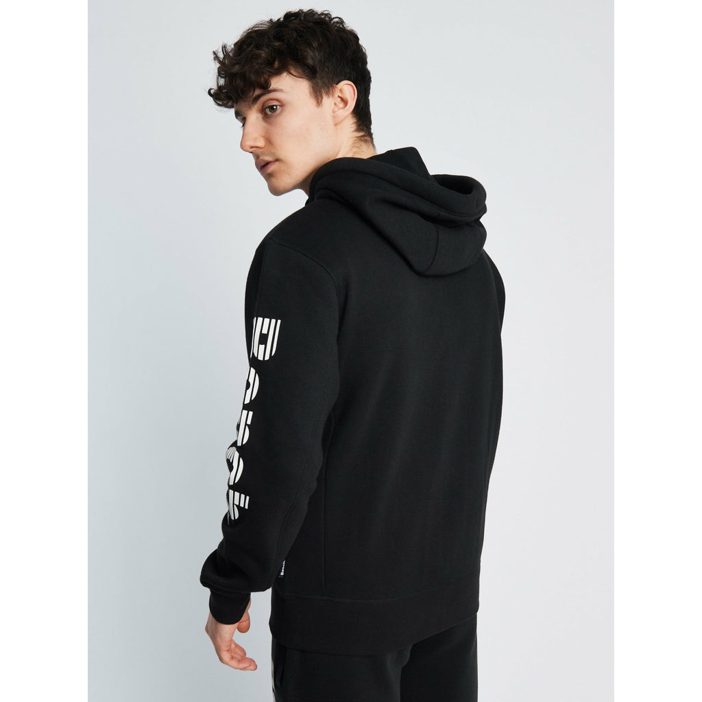 MASLOW Zip-Thru Hoodie - BLACK - Bench Clothing - #LoveMyHoodSHoodie