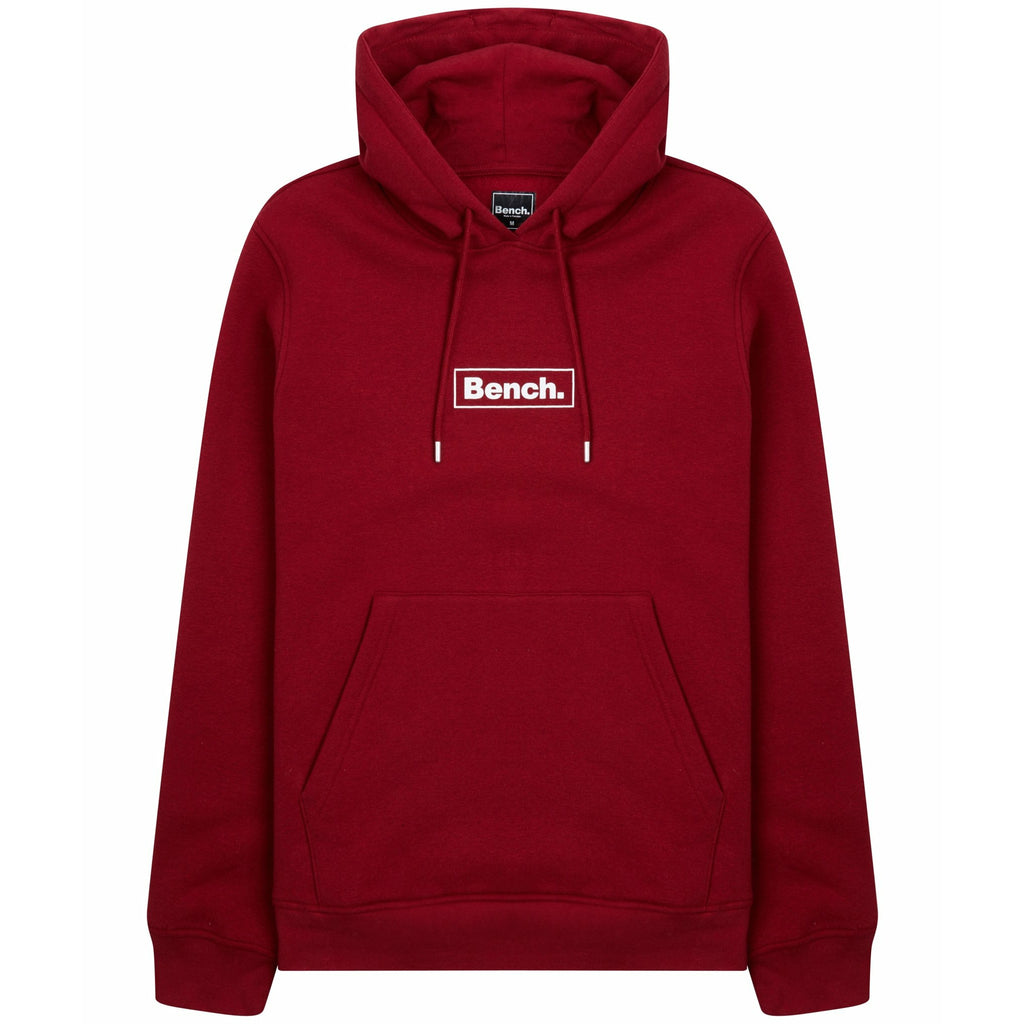Mens Bennie Sustainable Hoodie Red - Bench Clothing - #LoveMyHoodS