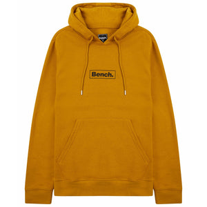 Mens Bennie Sustainable Hoodie Yellow - Bench Clothing - #LoveMyHoodLHoodies