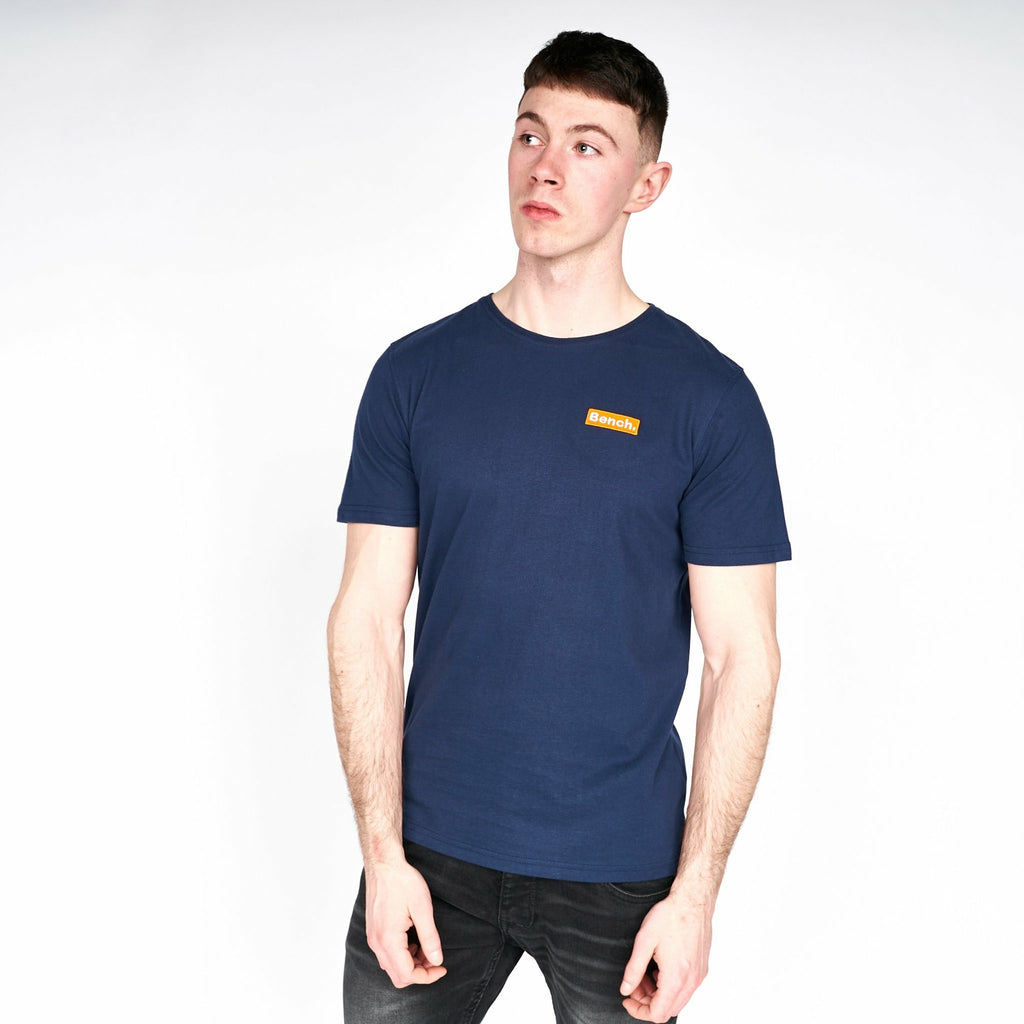 Mens Colomac T-Shirt Navy - Bench Clothing - #LoveMyHoodST-Shirts